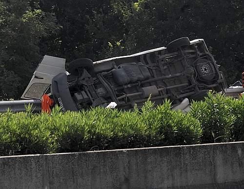 Lista persoanelor ranite si decedate in accidentul rutier de la Roma/doi bacauani morti