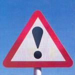 Accident pe fondul nerespectării semnelor de circulaţie