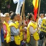 Mitinguri de protest la Cotroceni si Palatul Victoria