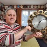 Casa cu 4.000 de ceasuri: Cât timp i-a trebuit proprietarei să le potrivească la ora de iarnă