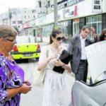 Monica Gabor, amendată de poliţişti dupa nunta surorii de la Bacău!
