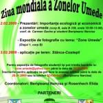 Ziua Mondială a Zonelor Umede 2012 – Zone Umede şi Turism