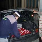 1.890 pachete ţigări de contrabandă capturate de inspectorii vamali