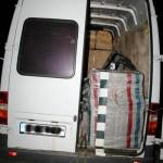 5.600 pachete de ţigări de contrabandă descoperite de inspectorii vamali