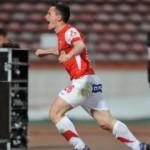 Dinamo, cu un om în minus, a învins pe Gaz Metan cu 1-0, în prima etapă a semifinalelor Cupei României