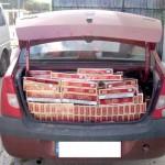1.150 pachete de tigari confiscate de inspectorii vamali