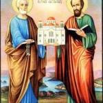 Sfinţii Petru şi Pavel, sărbătoriţi astăzi de catolici şi ortodocşi