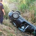 Gaiceana: Accident rutier produs pe fondul consumului de alcool și a neadăptării vitezei