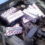 480 pachete de ţigări pe post de combustibil descoperite de inspectorii vamali