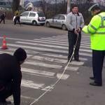 Comăneşti: Femeie accidentată pe trecerea pentru pieton