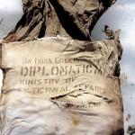Un pachet diplomatic indian din 1966 găsit pe Mont Blanc