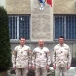 Trei Jandarmi bacauani s-au intors sanatosi din Afganistan