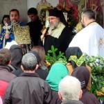 PS Ioachim Băcăuanul a slujit Sfânta Liturghie în parohia Mănăstirea Caşin II