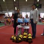 70 de tinere gimnaste au concurat pentru Cupa Nadia Comăneci