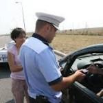 Acțiuni pentru siguranța traficului rutier, desfășurate de polițiștii băcăuani
