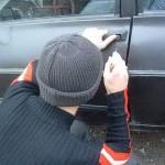Barbat retinut pentru ca a furat un autoturism