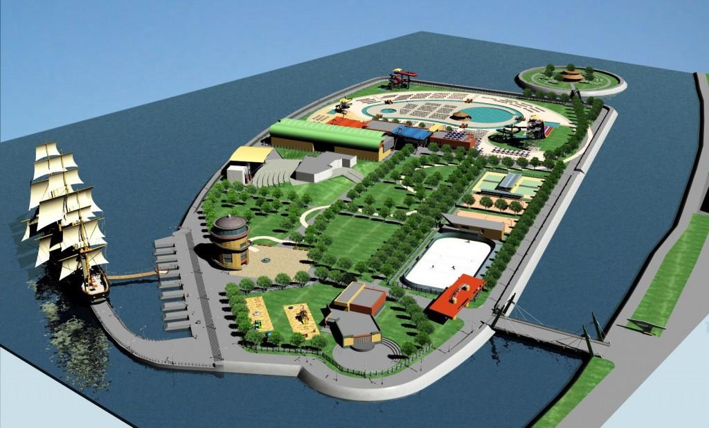Cum va arata Insula de Agrement din Bacau