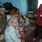 Crucea Rosie Bacau a ajutat o familie din Bacau