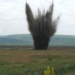 Distrugere de munitie neexplodata