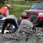 Biciclist decedat într-un accident din comuna Balcani