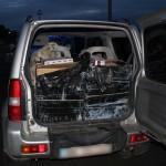 Transporta peste 40.000 de țigări de contrabandă