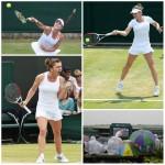 Halep este în optimi şi a devenit primul cap de serie din turneu după ce Serena Williams a fost eliminată. Pentru Simona urmează Zarina Diyas