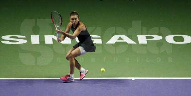 Simona Halep a demolat-o pe Serena în două seturi, 6-0, 6-2!