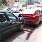 Eveniment rutier cu victime produs pe Calea Republicii din Bacău