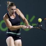 Simona Halep s-a calificat în sferturile turneului de la Miami (WTA)