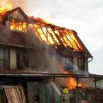 Incendiu în Județul Bacău