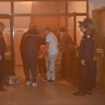 Exerciţiu practic de evacuare în caz de incendiu la SNPAP Tg. Ocna