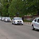 22 de autoturisme Dacia Logan, repartizate polițiștilor din județul Bacău