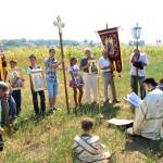 Rugăciune pentru ploaie în Parohia Traian