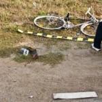 Biciclist dezechilibrat de alcool