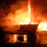De suparare ca i-a plecat concubina, a dat foc la casa de supărare!