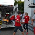Crucea Roșie Bacău a oferit susținere celor 168 de pasageri, nevoiți să aștepte sosirea cursei Bacău-Roma