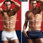 Rafael Nadal imaginea noii colectii de lenjerie pentru barbati lansata de Tommy Hilfiger