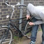 Furt de bicicletă, soluționat