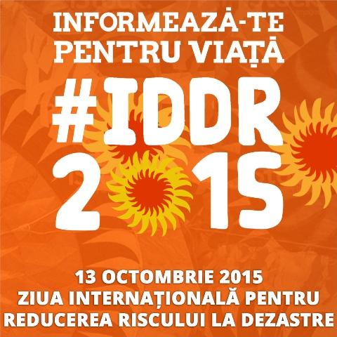Ziua internationala pentru reducerea riscului de dezastre