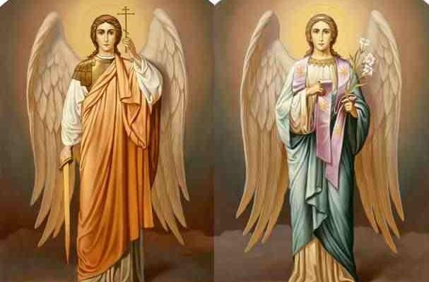 Sfinții Arhangheli Mihail si Gavriil, pãzitorii oamenilor
