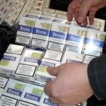 Reținut și cercetat pentru contrabandă cu țigarete