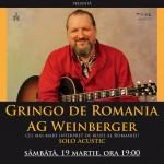 Ag Weinberger la Filarmonica Bacau pe 19 martie