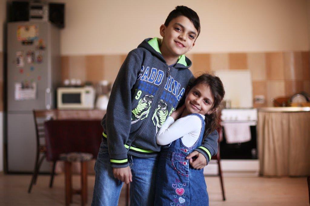 Daria si Razvan, beneficiari BIG BUILD 2015