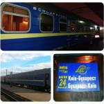 Cu trenul de la Kiev la Bucureşti şi retur