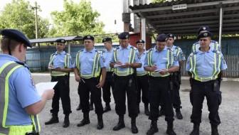 Week-end aglomerat pentru Gruparea de Jandarmi Mobilă Bacău