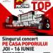 ProFM on Top – singurul concert PE Casa Poporului