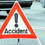 Accident rutier cercetat de polițiști în Podu Turcului