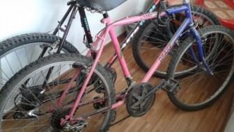 Bănuiti de furtul unor biciclete, depistati si retinuti