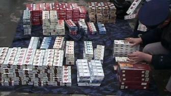 Dețineau, în vederea comercializării, 190 de pachete de țigări netimbrate
