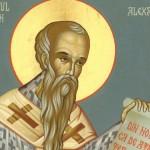"Sfântul Ierarh Alexandru, ""protectorul omenirii"""